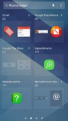 Samsung Galaxy A3 (2017) - Operazioni iniziali - Installazione di widget e applicazioni nella schermata iniziale - Fase 5