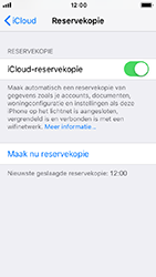 Apple iPhone 5s - iOS 12 - toestel resetten - back-up maken met jouw account - stap 16