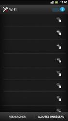 Sony Xperia S - WiFi - Configuration du WiFi - Étape 6