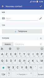 HTC U Play - Contact, Appels, SMS/MMS - Ajouter un contact - Étape 6