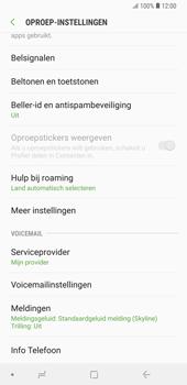 Samsung Galaxy Note9 - voicemail - handmatig instellen - stap 7