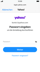 Apple iPhone SE - iOS 14 - E-Mail - 032b. Email wizard - Yahoo - Schritt 7