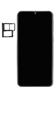 Samsung Galaxy A40 - Premiers pas - Insérer la carte SIM - Étape 3
