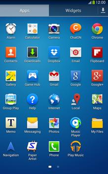 Samsung Galaxy Tab 3 8-0 LTE - Internet and data roaming - Using the Internet - Step 3
