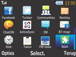 Samsung S3570 Chat 357 - Bluetooth - koppelen met ander apparaat - Stap 5