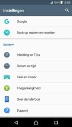 Sony Xperia XZ (F8331) - software - update installeren zonder pc - stap 4