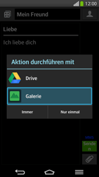LG G Flex - MMS - Erstellen und senden - 2 / 2