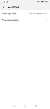 Huawei Mate 20 Pro - Voicemail - Handmatig instellen - Stap 7