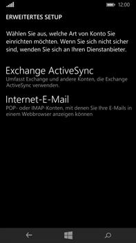Microsoft Lumia 640 XL - E-Mail - Konto einrichten - Schritt 9