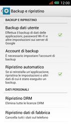 Alcatel One Touch Idol Mini - Dispositivo - Ripristino delle impostazioni originali - Fase 6