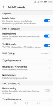 Huawei Y7 (2018) - Internet und Datenroaming - Deaktivieren von Datenroaming - Schritt 5