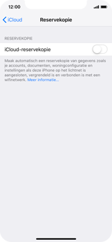 Apple iPhone XS - Data - maak een back-up met je account - Stap 10