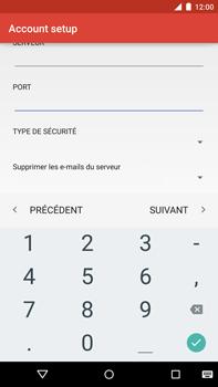 Motorola Nexus 6 - E-mail - Configurer l