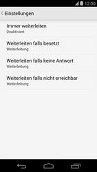 LG D821 Google Nexus 5 - Anrufe - Rufumleitungen setzen und löschen - Schritt 8