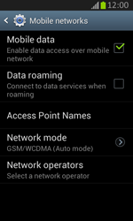 Samsung S7710 Galaxy Xcover 2 - Internet - Manual configuration - Step 7