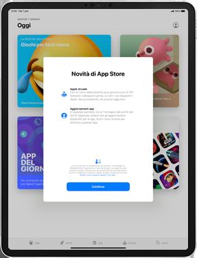 Apple iPad Pro 10.5 (1st gen) - iPadOS 13 - Applicazioni - Configurazione del negozio applicazioni - Fase 3