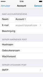 Apple iPhone 5s iOS 8 - E-mail - Handmatig instellen - Stap 19