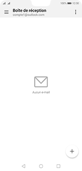 Huawei P20 - Android Pie - E-mail - 032c. Email wizard - Outlook - Étape 3