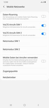 Samsung Galaxy S20 Ultra 5G - Internet und Datenroaming - Deaktivieren von Datenroaming - Schritt 7