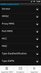 Sony LT22i Xperia P - Internet - Configuration manuelle - Étape 15