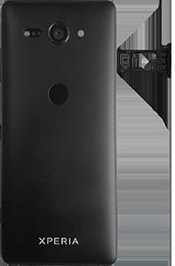Sony Xperia XZ2 Compact - Android Pie - SIM-Karte - Einlegen - Schritt 4