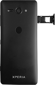Sony Xperia XZ2 Compact - SIM-Karte - Einlegen - 4 / 8