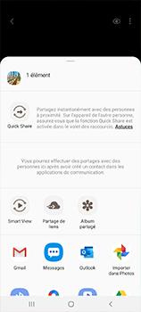 Samsung Galaxy A41 - Photos, vidéos, musique - Créer une vidéo - Étape 16