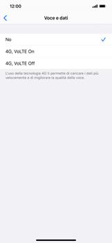 Apple iPhone 11 - Rete - Come attivare la connessione di rete 4G - Fase 6