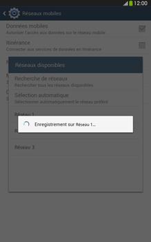 Samsung Galaxy Tab 3 8-0 LTE - Réseau - Sélection manuelle du réseau - Étape 9