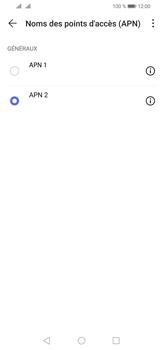 Huawei P30 Lite - Internet et roaming de données - Configuration manuelle - Étape 16