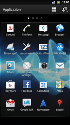 Sony Xperia S - MMS - Configurazione manuale - Fase 3