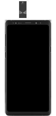 Samsung galaxy-note-9-sm-n960f-android-pie - Instellingen aanpassen - SIM-Kaart plaatsen - Stap 2