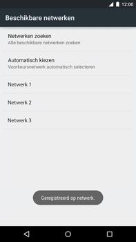 Motorola Nexus 6 - Netwerk - Handmatig netwerk selecteren - Stap 13