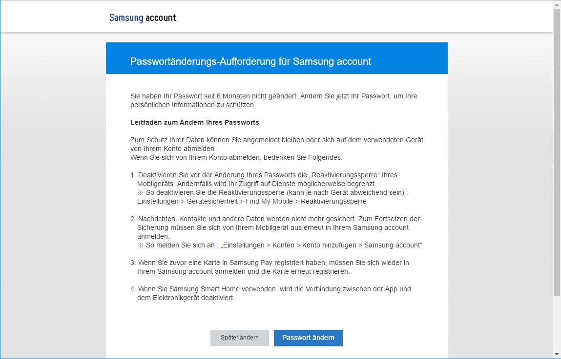 Samsung Galaxy S7 - Datenschutz und Sicherheit - Mein Handy suchen - 4 / 9
