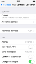 Apple iPhone 5c - E-mail - 032c. Email wizard - Outlook - Étape 10