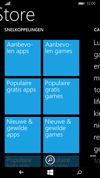 Microsoft Lumia 640 XL - Applicaties - Downloaden - Stap 5