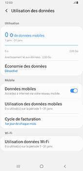 Samsung Galaxy Note9 - Android Pie - Internet et roaming de données - Comment vérifier que la connexion des données est activée - Étape 7