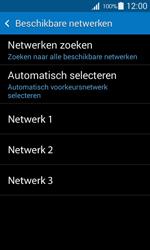 Samsung G357 Galaxy Ace 4 - Netwerk - Handmatig een netwerk selecteren - Stap 9