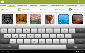 Sony Xperia Tablet Z LTE - Apps - Installieren von Apps - Schritt 13
