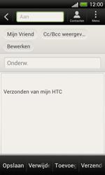 HTC C525u One SV - E-mail - e-mail versturen - Stap 8