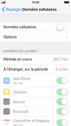 Apple iPhone SE - iOS 11 - Internet et connexion - Désactiver la connexion Internet - Étape 5