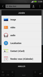 HTC One - Contact, Appels, SMS/MMS - Envoyer un MMS - Étape 12