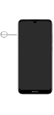 Huawei Y6 (2019) - Appareil - comment insérer une carte SIM - Étape 2