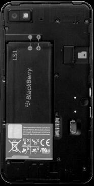 BlackBerry Z10 - SIM-Karte - Einlegen - 3 / 8