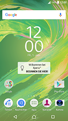 Sony Xperia X Performance - WLAN - Manuelle Konfiguration - 1 / 9