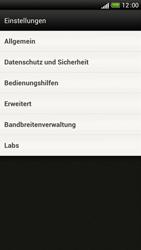 HTC One S - Internet und Datenroaming - Manuelle Konfiguration - Schritt 18