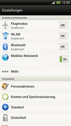 HTC One X - Internet - Manuelle Konfiguration - 5 / 23