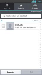 LG P875 Optimus F5 - E-mail - Envoi d