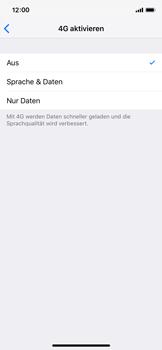 Apple iPhone XS - Netzwerk - Netzwerkeinstellungen ändern - Schritt 7