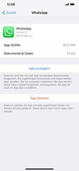 Apple iPhone XR - Apps - Eine App deinstallieren - Schritt 6